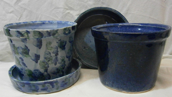 Woodland Pottery Flower Pots