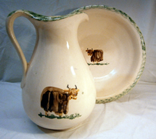 Cow Jug and pitcher