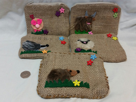 Hessian purses