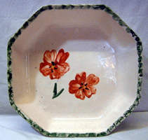 Poppy pottery - dish