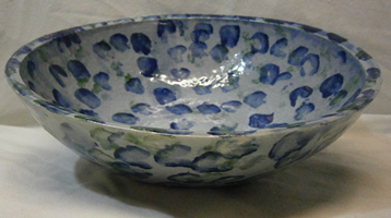 Splodgy pottery - dish